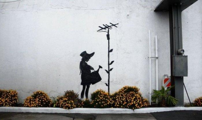 Классные рисунки на стенах! (9 фото)
