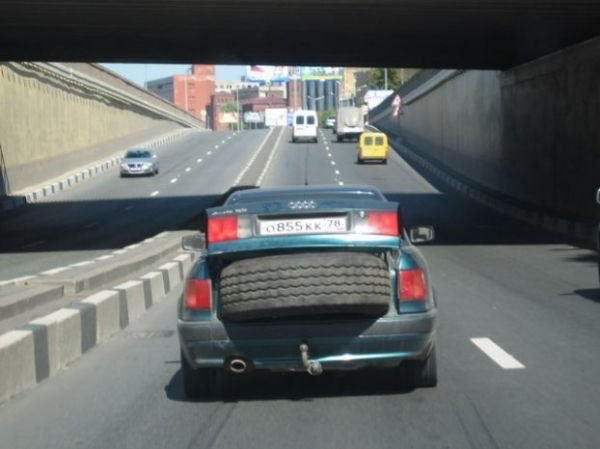 Приколы на дорогах (15 фото)