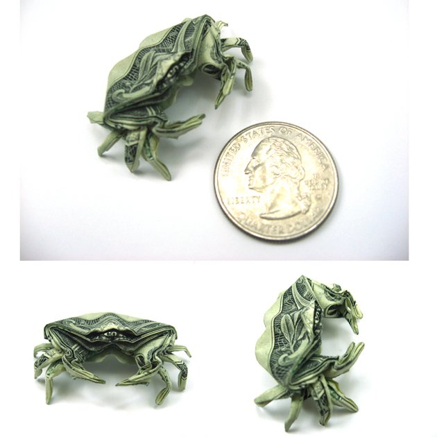 Креатив из долларов (20 фото)