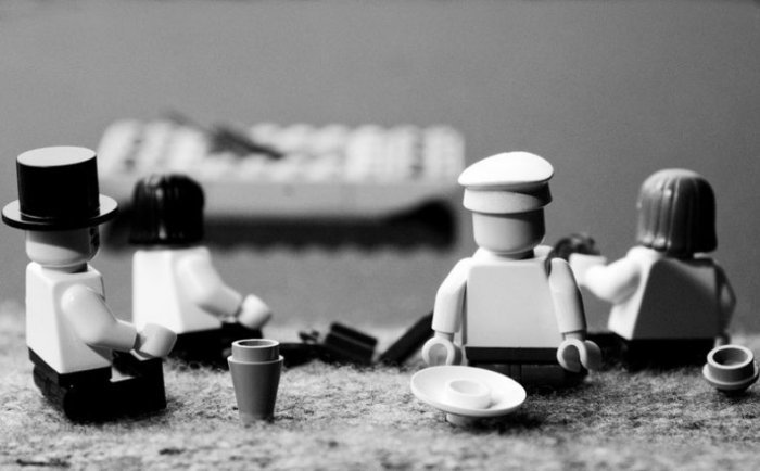 Креатив от лего (32 фото)