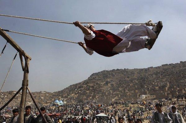 Лучшие фотографии 2008 года от Associated Press (70 фото)