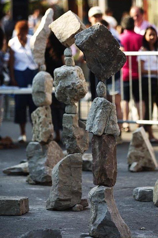 Искусство баллансировки камней (5 фото)