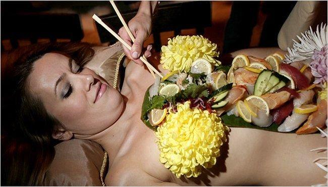 Ресторан японской кухни в Лос-Анджелесе (12 фото)