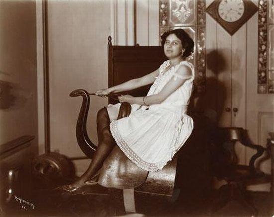 Фитнес сто лет назад (8 фото)