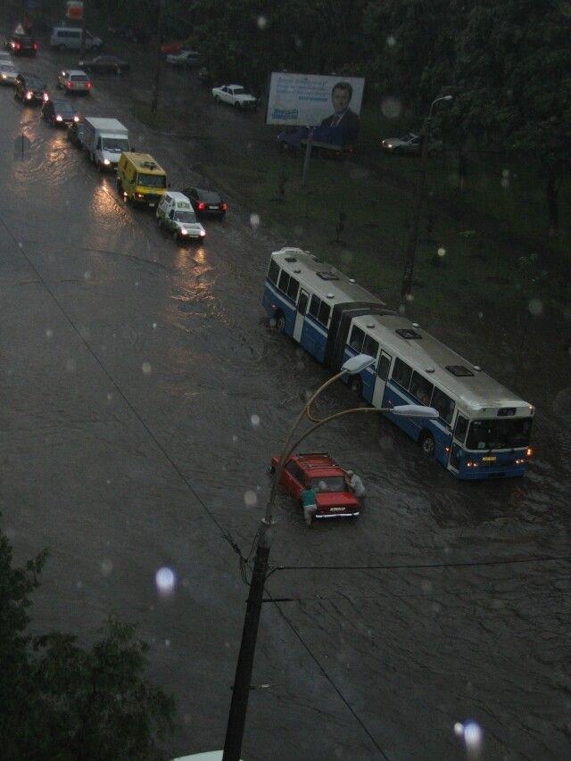Киев затопило (9 фото)