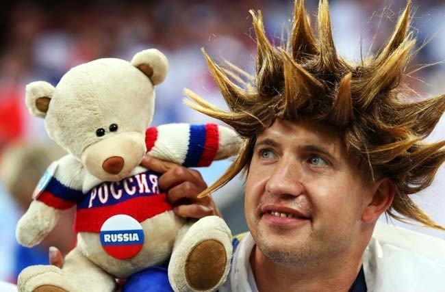 Футбольные фанаты на Евро 2008! (17 фото)