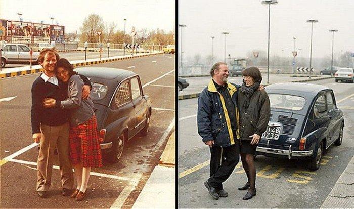 Авто и их владельцы спустя 20 лет (9 фото)
