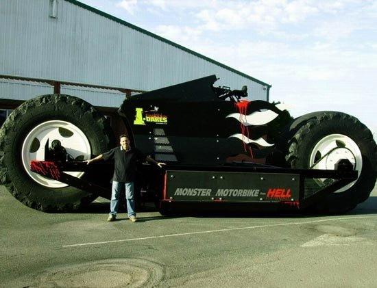 Самый большой мотоцикл в мире (7 фото)