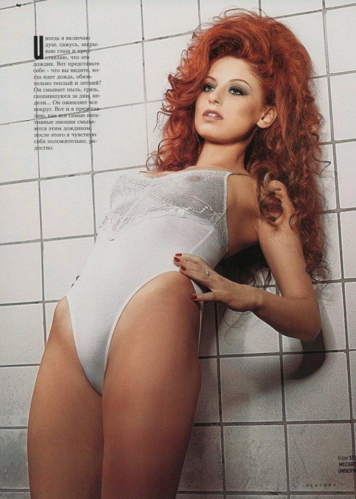 Ирина Забияка из группы Чи-Ли в журнале Playboy за июль (7 фото)