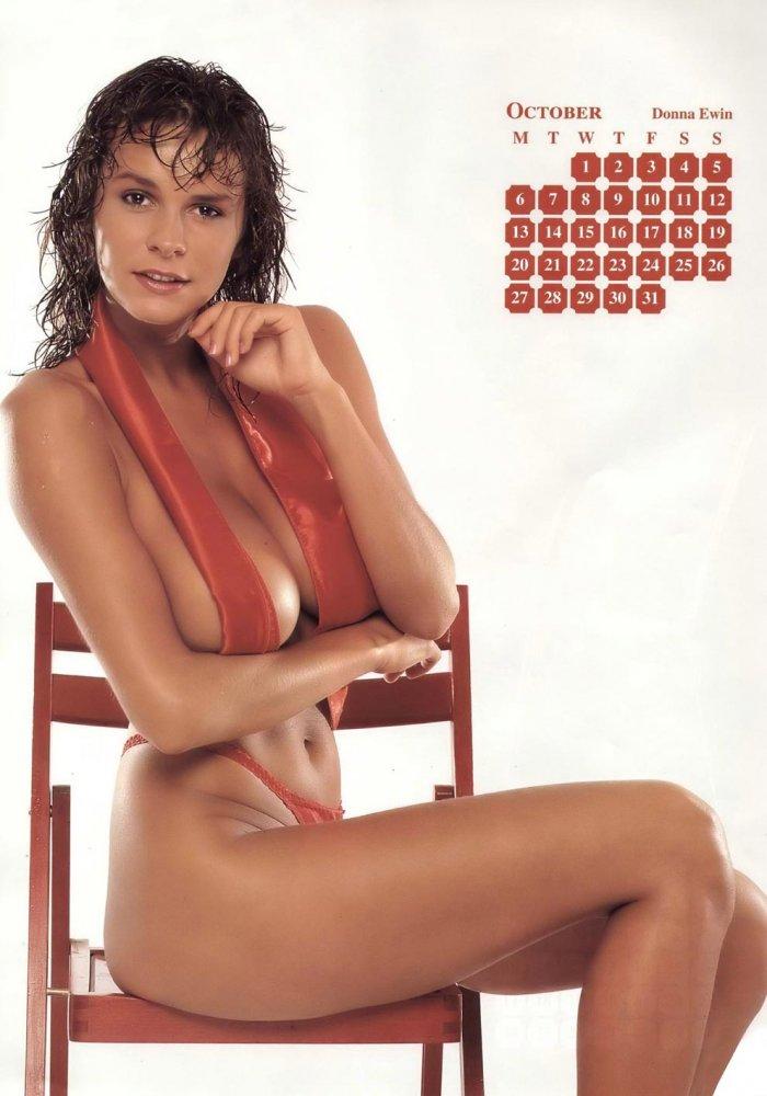 Календарь с симпотичными девушками на 2008 год (12 фото)