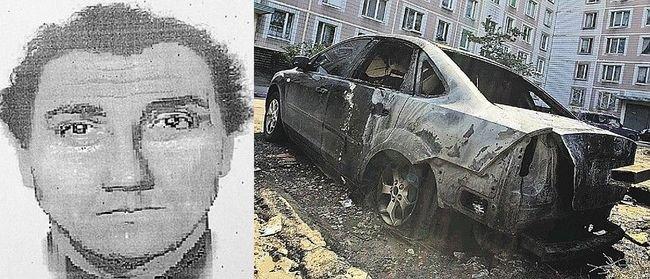 Опознан поджигатель машин в Москве (2 фото)