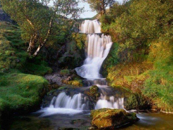 Красивые фотографии водопадов! (10 фото)