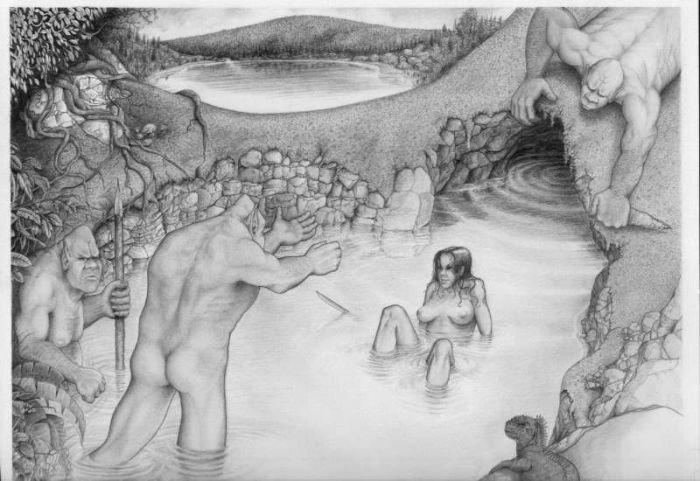 Мастерство рисования крандашем (62 фото)