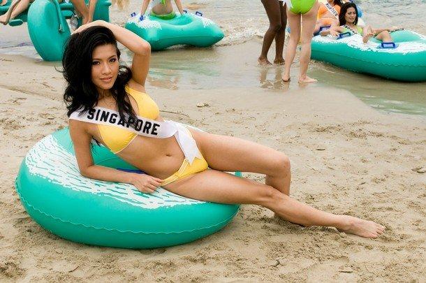 Девушки с конкурса Мисс Вселенная 2008 (58 фото)
