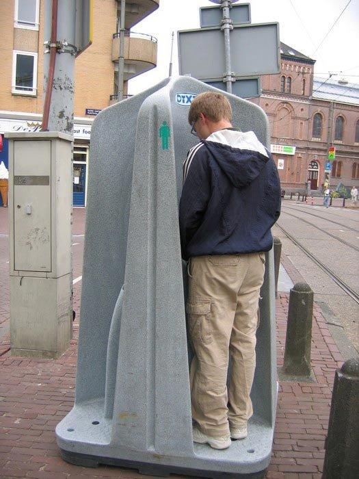 Как ходят в туалет в Голландии (9 фото)