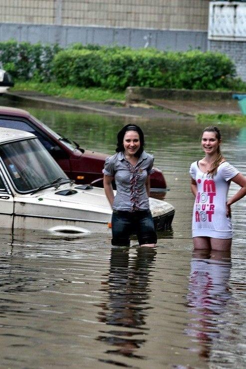Потоп в Обнинске (40 фото)