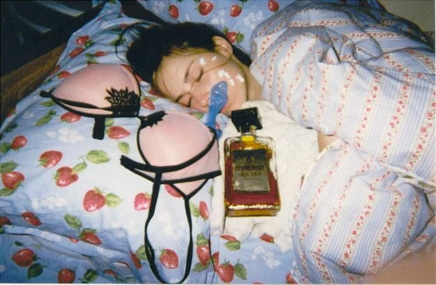 Пьяные девушки (25 фото)