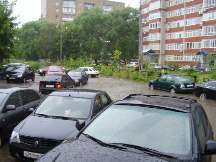 Казань превратилась в Венецию (57 фото)