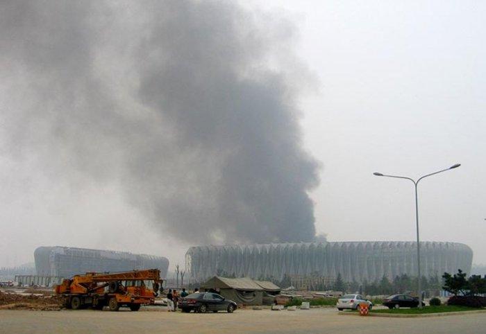 Китай готовится к Олимпиаде (5 фото)