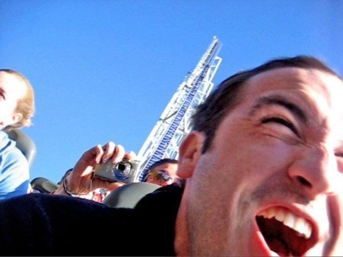 Millennium Force - самый экстримальный атракцион в мире (43 фото)