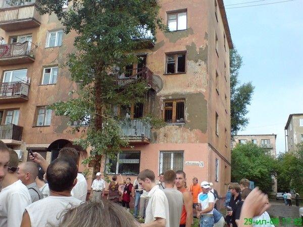 В Омске прорвало водопровод (4 фото + видео)