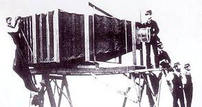 Как снимал самый большой фотоаппарат в мире! (5 фото)