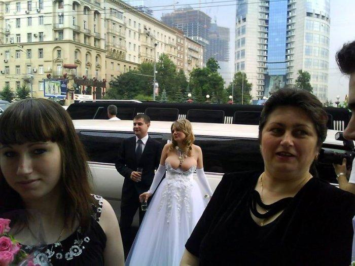 Зачетное свадебное платье! (2 фото)