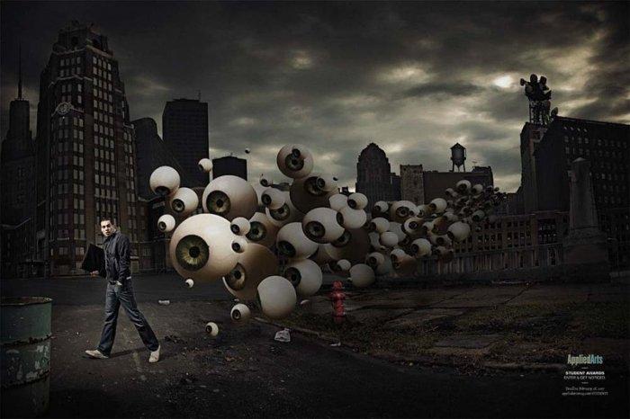 Подборка рекламного креатива (118 фото)