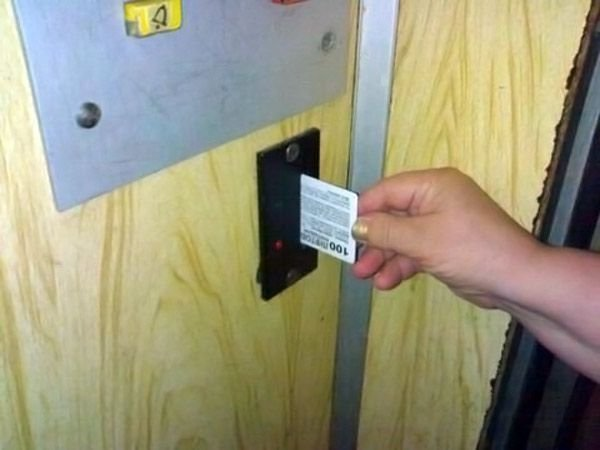 В Житомире появились платные лифты! (2 фото)