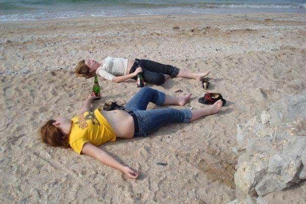 Как неправильно проводить выходные (22 фото)