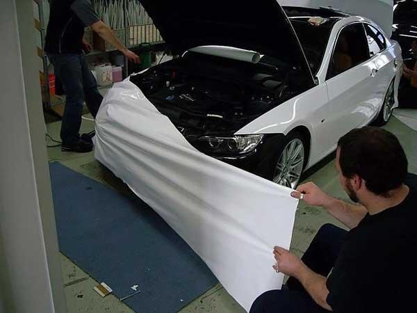Как перекрасить машину по-быстрому