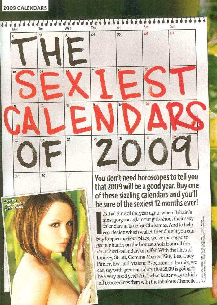 Самый сексуальный каледарь на 2009 год (12 фото)