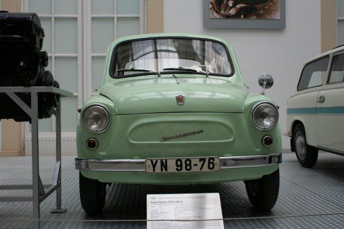 Музей транспорта в Дрездене (15 фото)