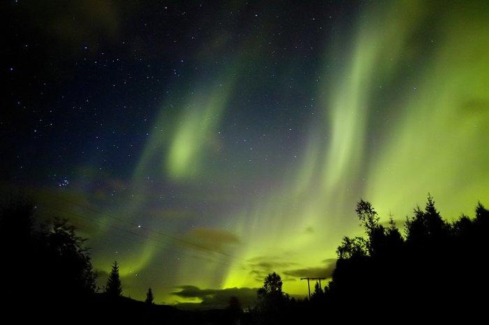 Красивейшие фотографии северного сияния! (15 фото)