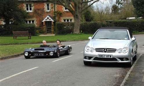 Самый низкий автомобиль в мире (8 фото)