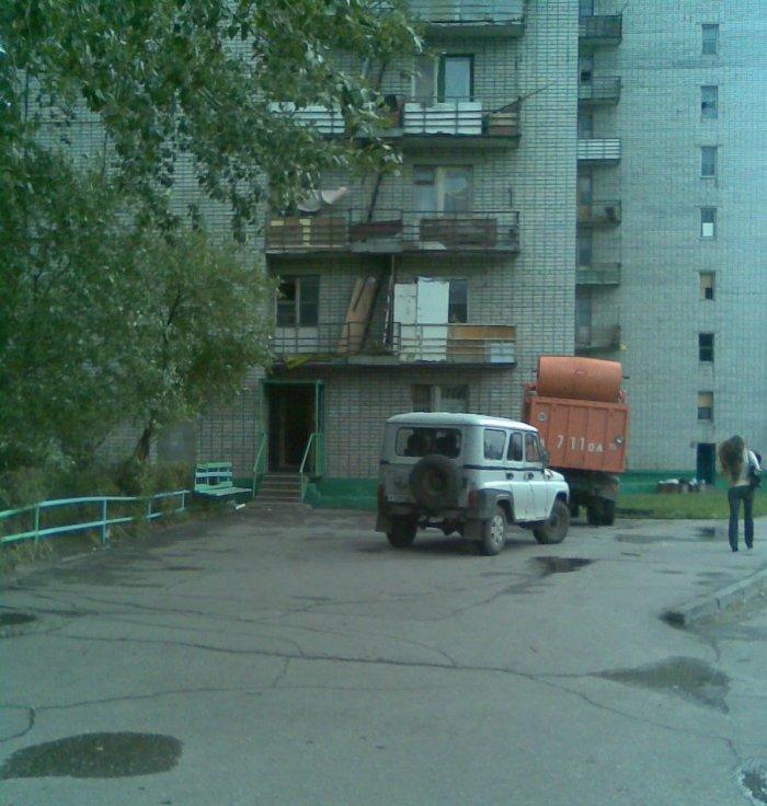 Мусоровоз (7 фото)