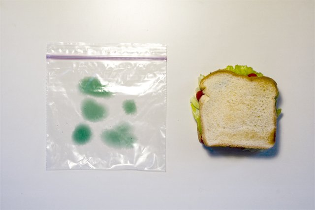 Как защитить бутерброд от коллег (3 фото)