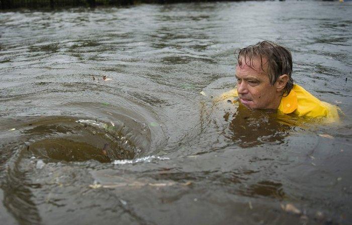 Последнствия урагана Айк (28 фото)