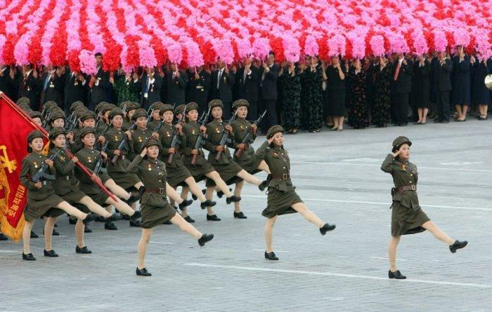 Северная корея - необыная страна (32 фото)