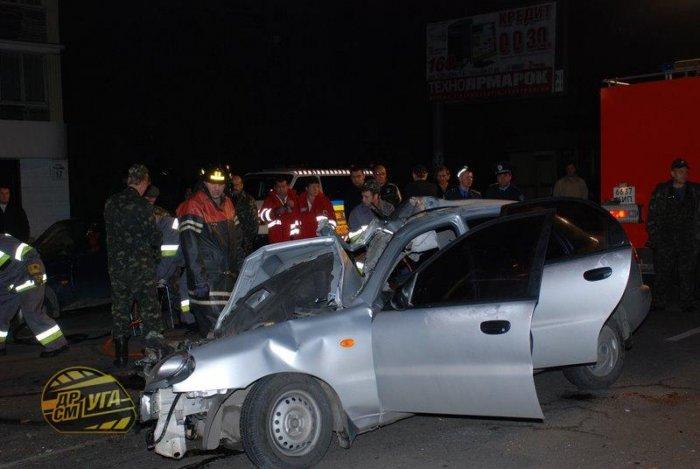 Жесть! Авария в Киеве (11 фото)