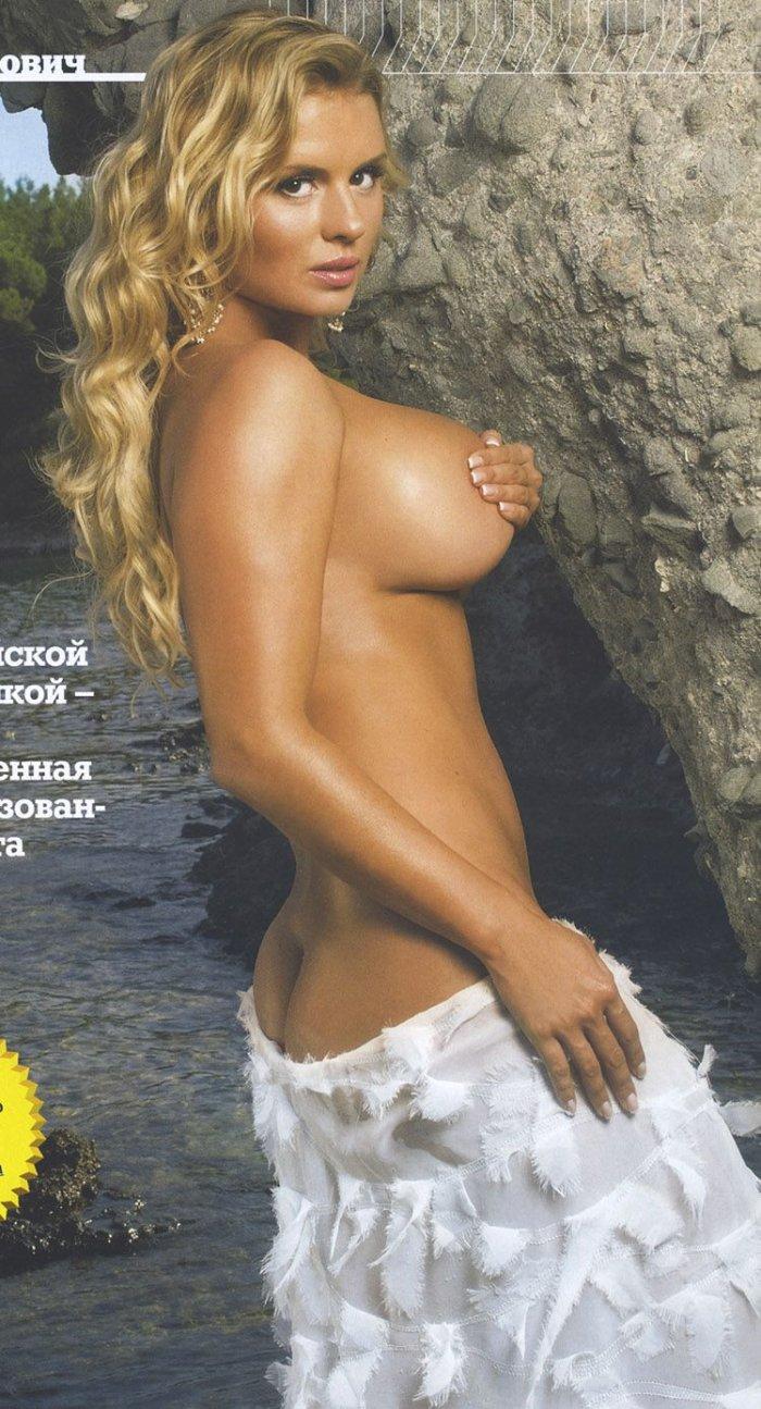 Анна Семенович в новом MAXIM (6 фото)