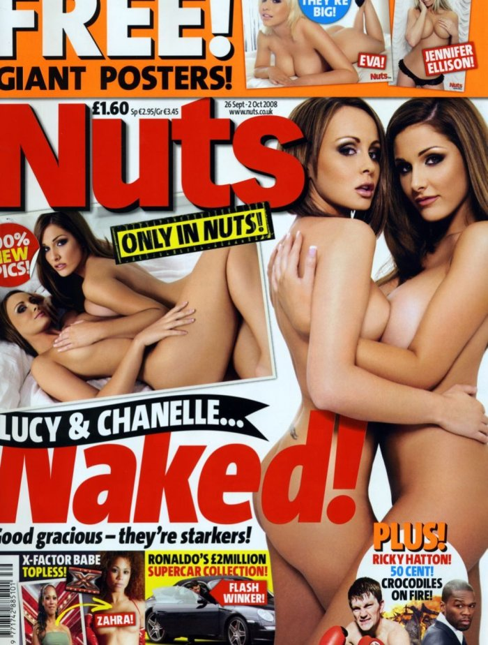 Lucy Pinder и Chanelle Hayes в журнале Nuts (9 фото + 11 бонусных)