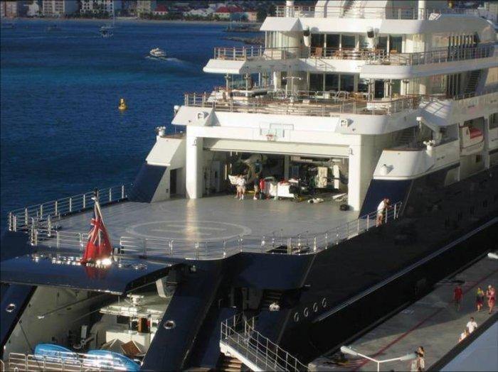 Самая большая частная яхта (18 фото)
