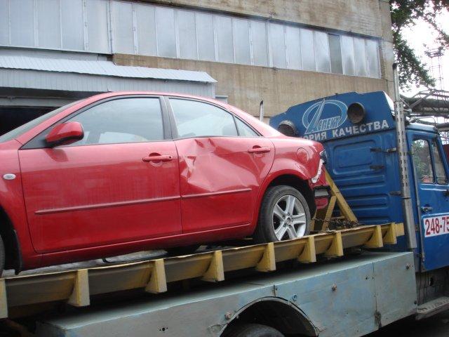 Как уничтожают новую машину (10 фото)