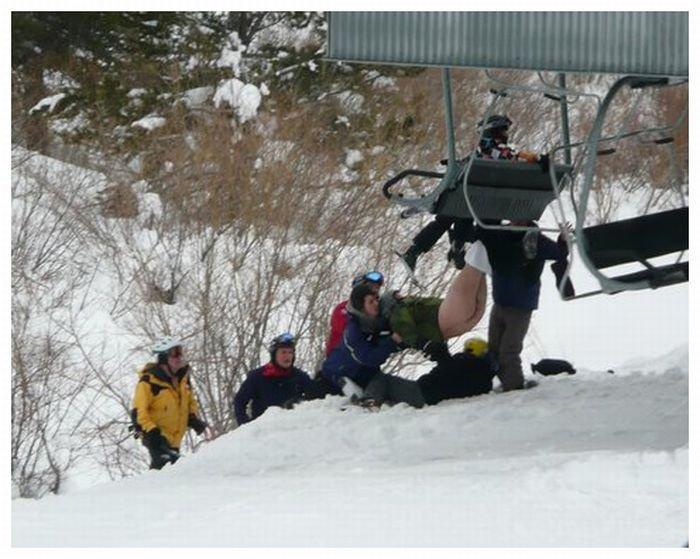Покатался на лыжах (5 фото)