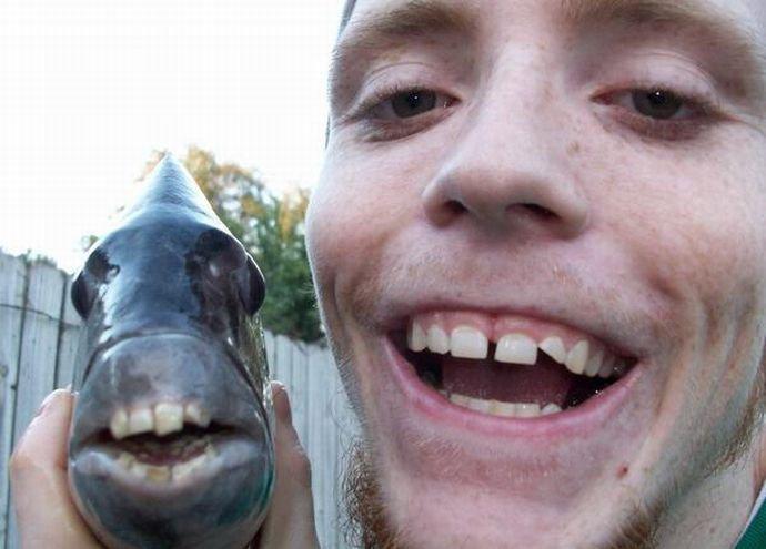 Рыбак и рыбка (2 фото)