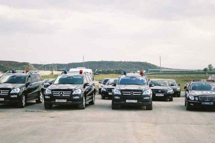 Автопарк Рамзана Кадырова (16 фото)
