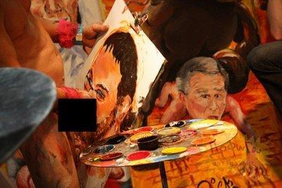 Художник, который рисует... (8 фото)