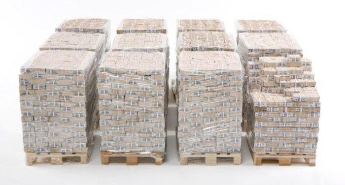 Как выглядит миллиард долларов (4 фото)