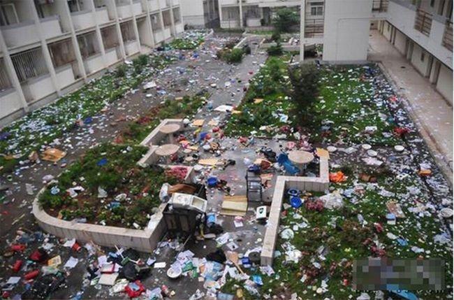 Общежите в Китае (10 фото)